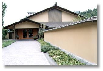 ▲美しい日本建築の平山郁夫美術館