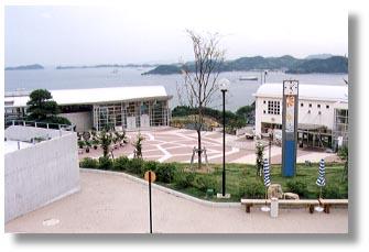 ▲眺望の美しいシトラスパーク瀬戸田
