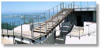 ▲美しい眺めの亀老山展望台