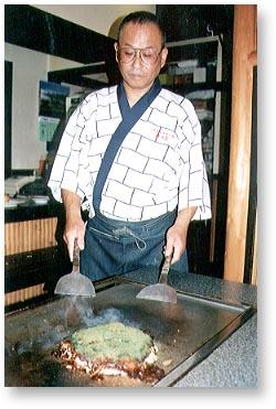 ▲こだわりの料理人 萩原隆さん