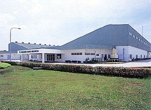 96年に進出したジャカルタ工場