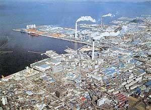 単一工場としては日本一の規模を誇る同社の三島 工場敷地面積は、なんと東京ドームの34倍(50万坪)!!