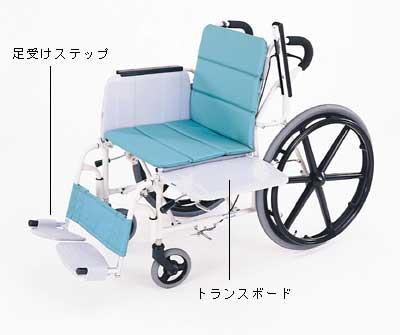 「横乗り車椅子/ラクーネ」