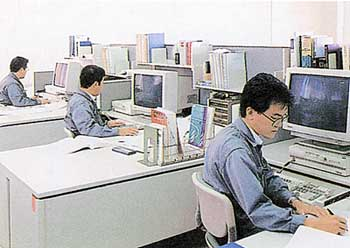 当社の設計室