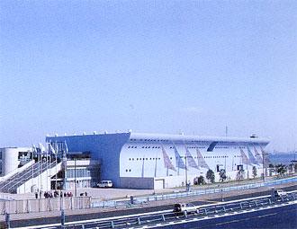 田の浦地区の中核施設「うみたまご」