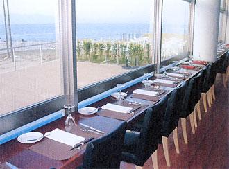 素晴らしい眺望をもつレストラン