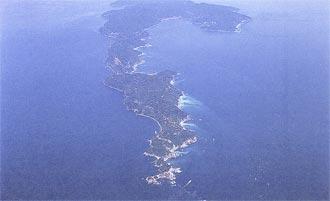 日本一細長い「佐田岬半島」