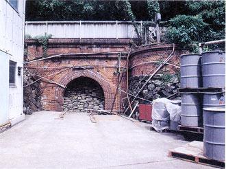 大峯鉱山坑跡(写真:八幡浜市提供)