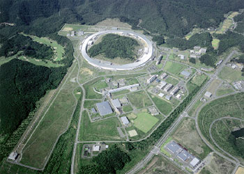 大型放射光施設SPring-8の全景