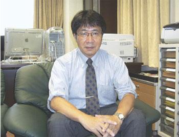 愛媛大学地球深部ダイナミクス研究センター長 入舩徹男教授