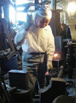 2007年10月工房にて