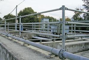 画像:排水処理施設