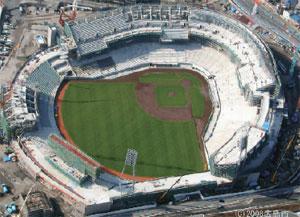 建設中の新広島市民球場(広島市提供)
