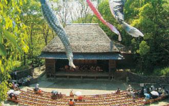 画像:四国民家博物館「四国村」