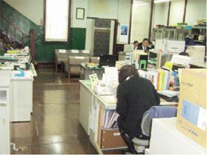 画像:1階 事務室