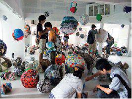 川島猛とドリームフレンズ「想い出玉が集まる家」