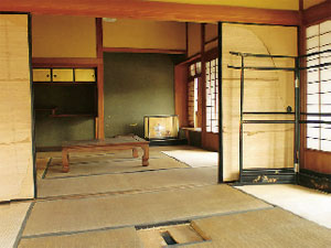 画像:二階大廊下東側の客間