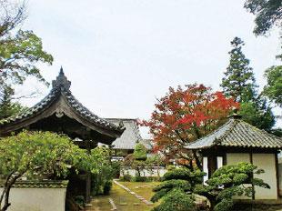 画像:福田寺正面入口