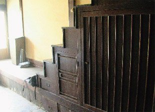 画像:旧主屋の内部