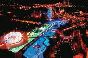 光の王国「光のアートガーデン」