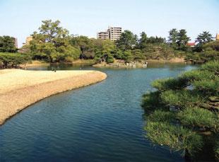 画像:栗林公園風景