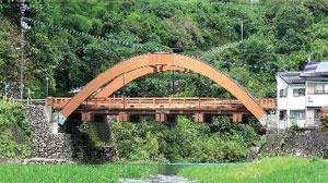 木造の梼原橋