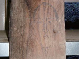 画像:侍の似顔絵