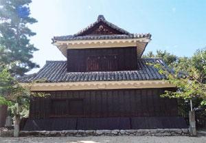画像:望楼型二重櫓野原櫓