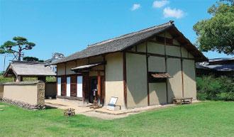 画像:復元された武家屋敷