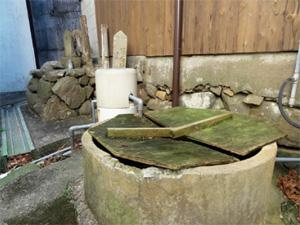 画像:藤原純友が使ったと言われている「みなかわの井戸」