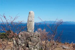 画像:藤原純友の記念碑から眺める風景
