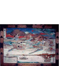 画像:桑名神社の「船の絵馬」