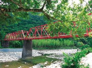 森林鉄道最大の遺構「小島橋」