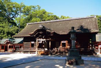画像:大山祇神社本殿