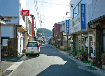 画像:大山祇神社 参道