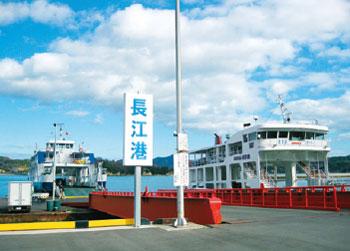画像:港のようす