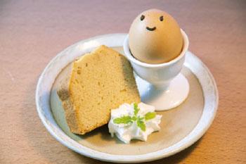 画像:ひめっこプリンと島の惠たっぷりパウンドケーキ