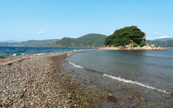 画像:貝付小島