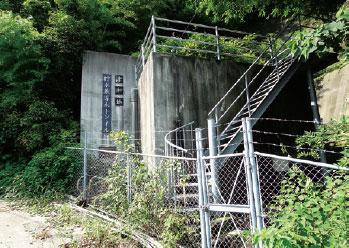 画像:貯水兼導水トンネル