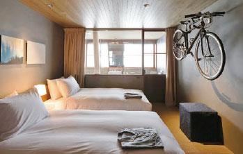 ONOMICHI U2「HOTEL CYCLE」 客室