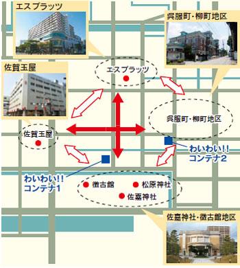 4拠点周遊イメージ図