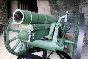 砲台レプリカ(伊方町提供)