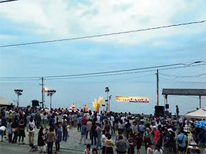 夕焼けプラットホームコンサート